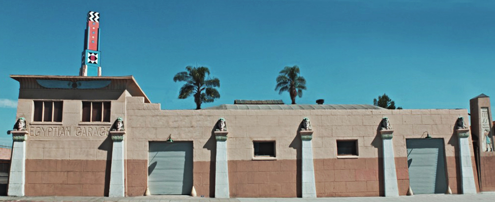 The Egyptian Garage